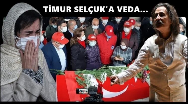 Timur Selçuk'a son veda