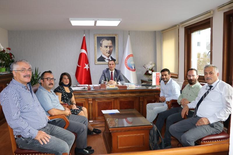 TKP'DEN EĞİTİM-İŞ'E ZİYARET