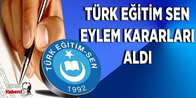 Türk Eğitim Sen'in Eylem Kararları