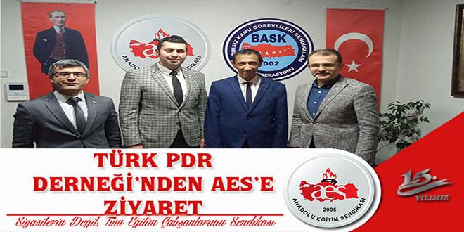 TÜRK PDR DERNEĞİNDEN AES'E ZİYARET