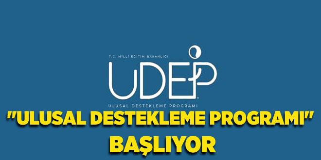 ULUSAL DESTEKLEME PROGRAMI BAŞLIYOR