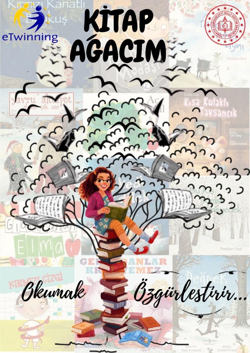 Uluslararası eTwinning Kitap Ağacım Projesi ile Okul Öncesi Dönemde  Okuma  Farkındalığı Amaçlanıyor