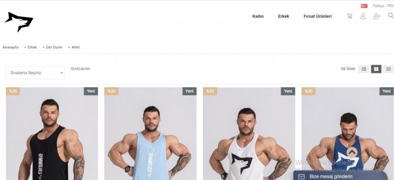 Uygun Erkek Spor Atlet Modelleri İçin Adres Şimdi Gym Wolves!