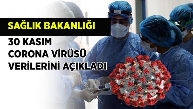 Sağlık Bakanlığı 30 Kasım corona virüsü verilerini açıkladı