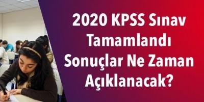 2020 KPSS Sınav Tamamlandı Sonuçlar Ne Zaman Açıklanacak?