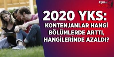 2020 YKS: Kontenjanlar hangi bölümlerde arttı, hangilerinde azaldı?