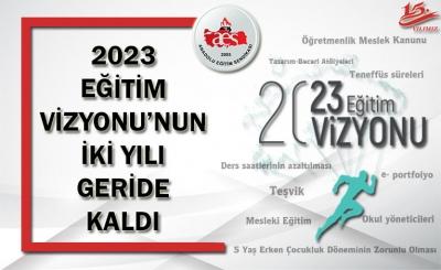 AES: 2023 EĞİTİM VİZYONU'NUN İKİ YILI GERİDE KALDI