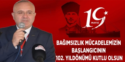 BAĞIMSIZLIK MÜCADELEMİZİN BAŞLANGICININ 102. YILDÖNÜMÜ KUTLU OLSUN
