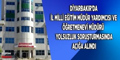 DİYARBAKIR'DA YOLSUZLUK SORUŞTURMASI