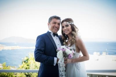 Gazeteci İsmail Küçükkaya bu akşam, öğretmen Eda Demirci ile evlendi