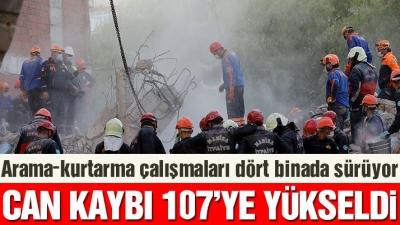 İzmir depreminde can kaybı yükseliyor! Ölü sayısı 107'ye çıktı…