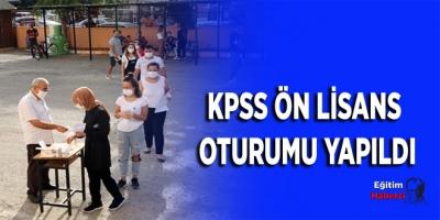 KPSS ön lisans oturumu yapıldı