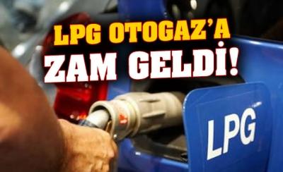 LPG'ye 27 kuruş zam geldi