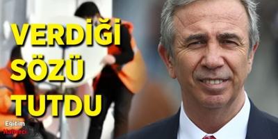 Mansur Yavaş Verdiği Sözü Tuttu:Ankara'da internetsiz köy kalmadı