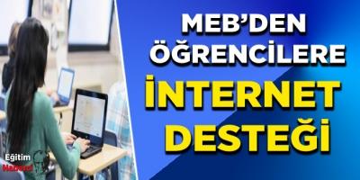MEB'den Öğrencilere İnternet Desteği