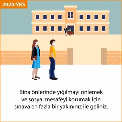 ÖSYM Başkanı Aygün: Sınava en fazla bir yakınınızla geliniz