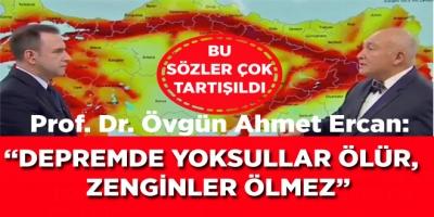 Prof. Dr. Övgün Ahmet Ercan'ın Bu Sözleri Sosyal Medyada Çok Tartışıldı