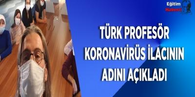 Prof Dr.Ercüment Ovalı Koronavirüs İlacının Adını Açıkladı
