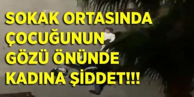 Samsun'da Sokak Ortasında Kadına Şiddet Yaşandı