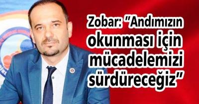 """Zobar: """"Andın okunması için mücadelemizi sürdüreceğiz"""""""